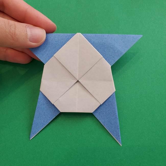 ポケモンの折り紙 簡単なゼニガメの折り方作り方②体(34)