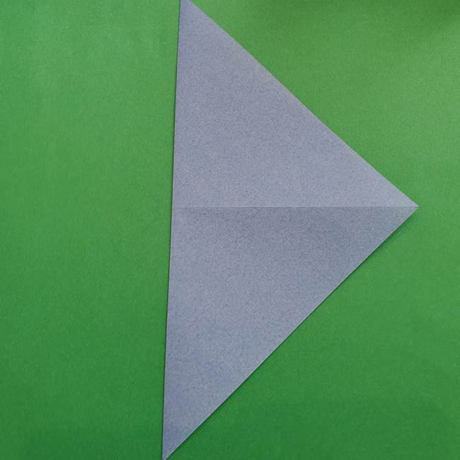 ポケモンの折り紙 簡単なゼニガメの折り方作り方②体(4)