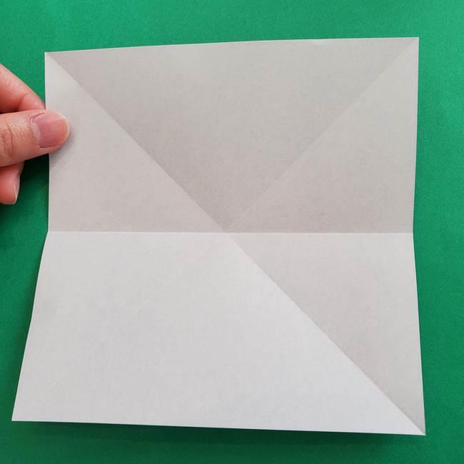 ポケモンの折り紙 簡単なゼニガメの折り方作り方②体(7)