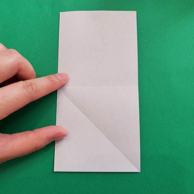 ポケモンの折り紙 簡単なゼニガメの折り方作り方②体(8)