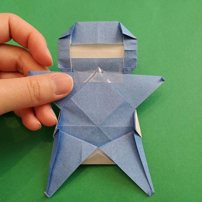 ポケモンの折り紙 簡単なゼニガメの折り方作り方③完成(2)