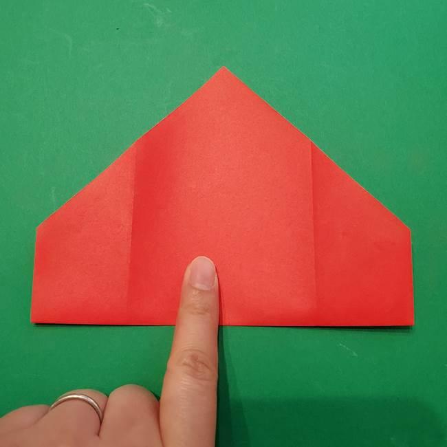七夕の巾着の折り方作り方①四角(10)