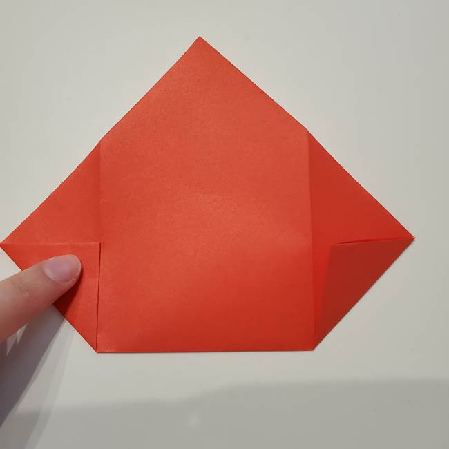七夕の巾着の折り方作り方①四角(11)