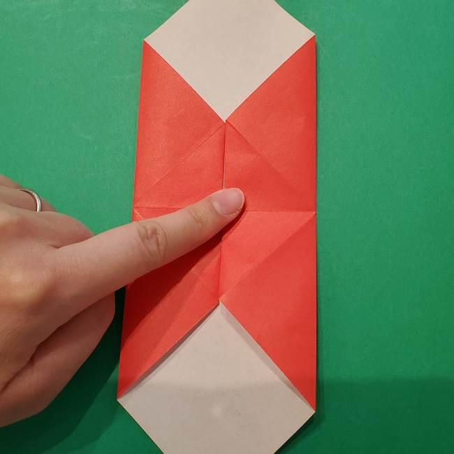七夕の巾着の折り方作り方①四角(14)