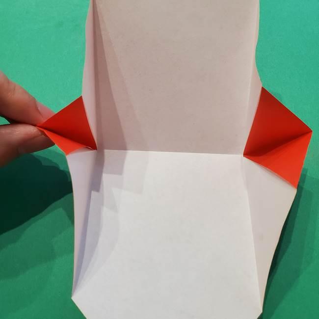七夕の巾着の折り方作り方①四角(15)