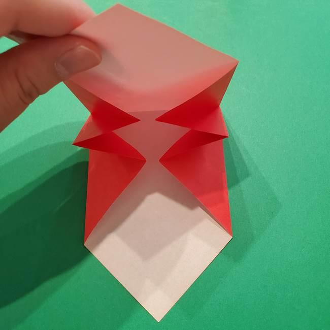 七夕の巾着の折り方作り方①四角(16)