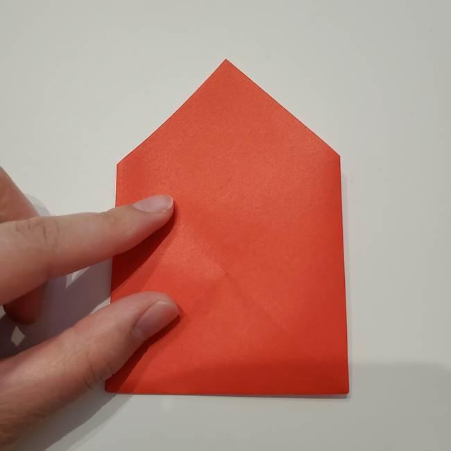 七夕の巾着の折り方作り方①四角(17)
