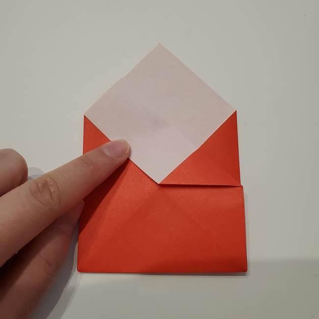 七夕の巾着の折り方作り方①四角(18)