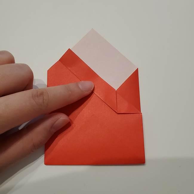 七夕の巾着の折り方作り方①四角(19)