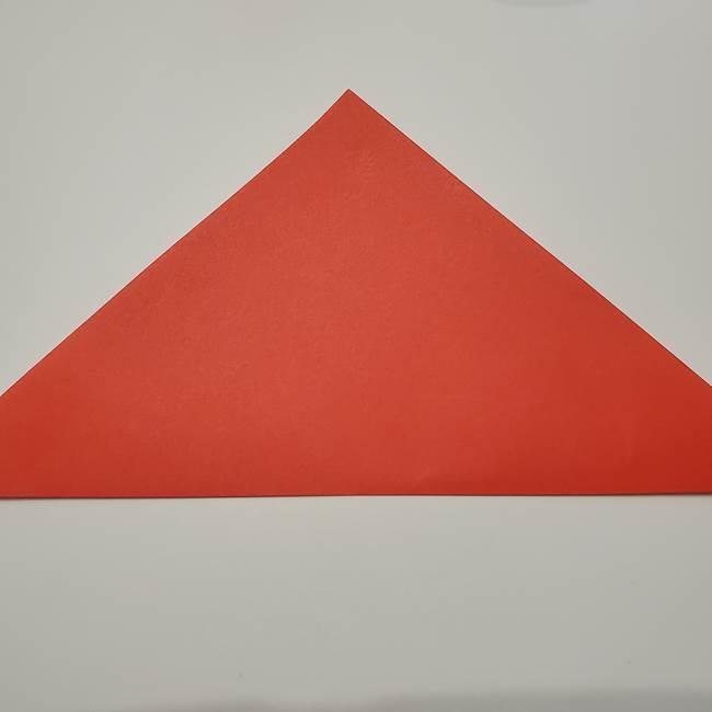 七夕の巾着の折り方作り方①四角(2)