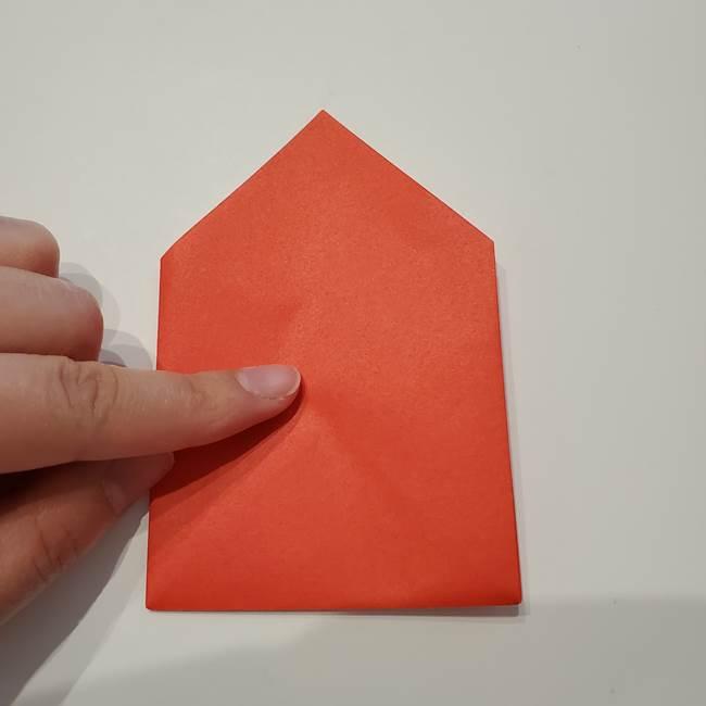 七夕の巾着の折り方作り方①四角(20)