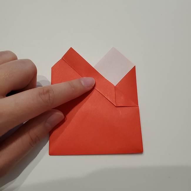 七夕の巾着の折り方作り方①四角(21)