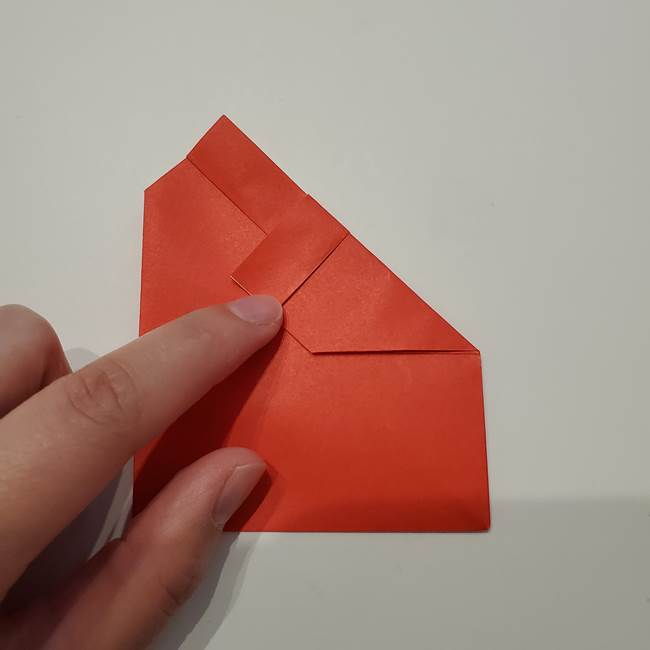 七夕の巾着の折り方作り方①四角(22)