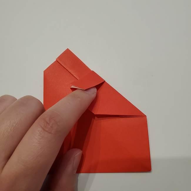 七夕の巾着の折り方作り方①四角(23)