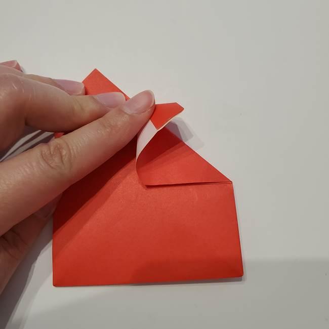 七夕の巾着の折り方作り方①四角(24)