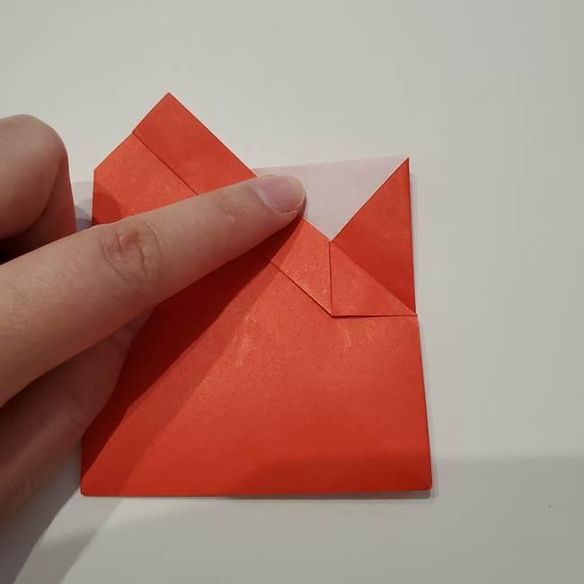 七夕の巾着の折り方作り方①四角(27)