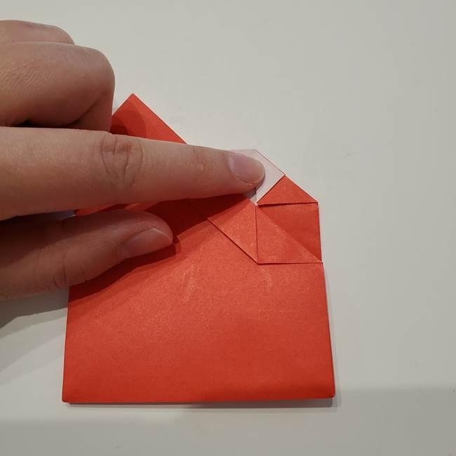 七夕の巾着の折り方作り方①四角(28)