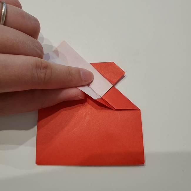 七夕の巾着の折り方作り方①四角(30)
