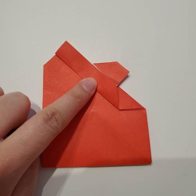 七夕の巾着の折り方作り方①四角(31)