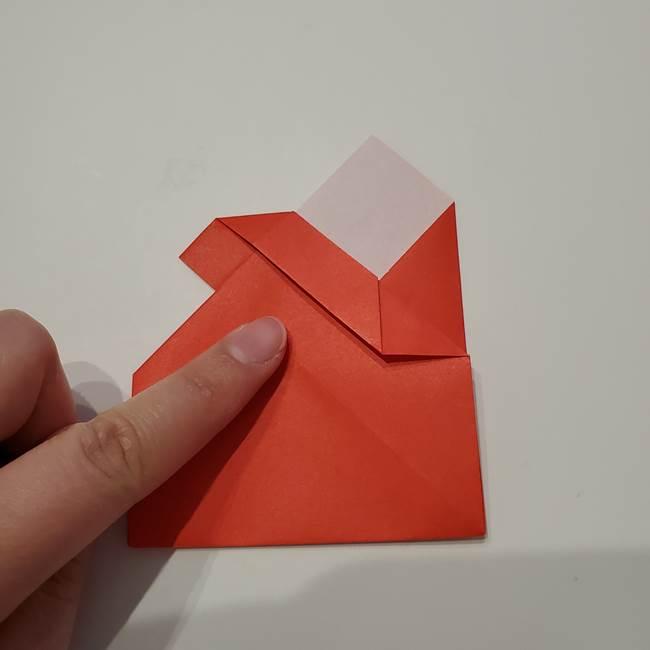 七夕の巾着の折り方作り方①四角(32)