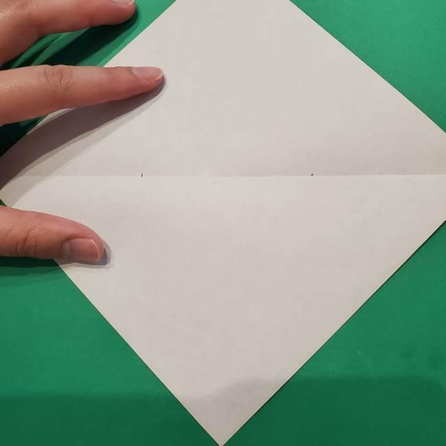 七夕の巾着の折り方作り方①四角(5)