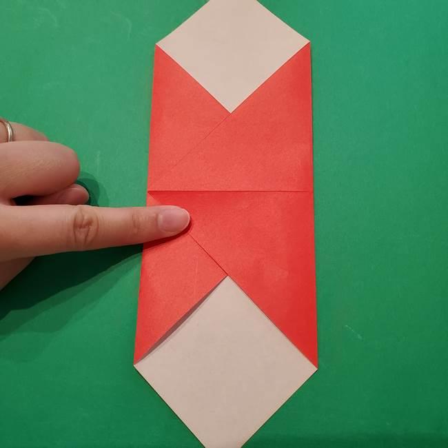 七夕の巾着の折り方作り方①四角(7)