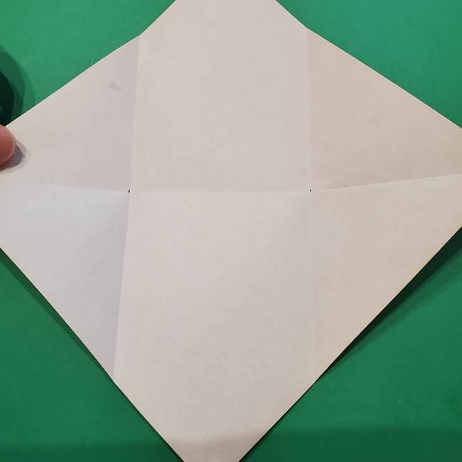 七夕の巾着の折り方作り方①四角(8)