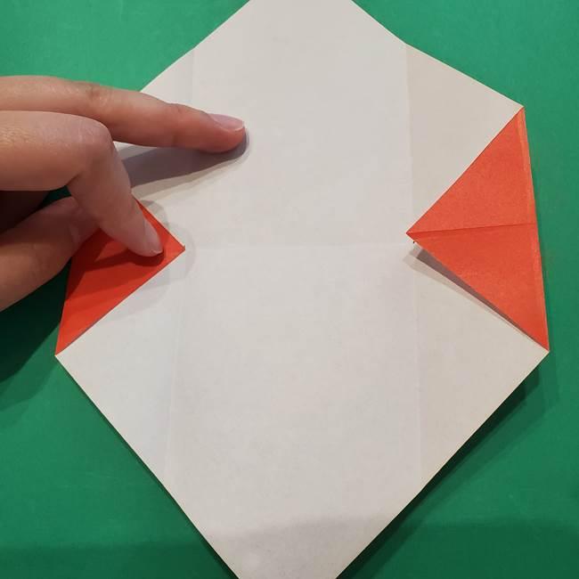 七夕の巾着の折り方作り方①四角(9)