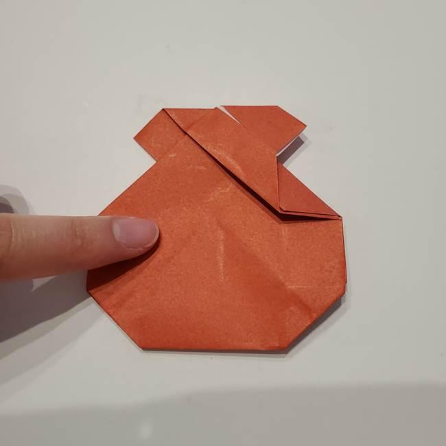 七夕の巾着の折り方作り方②丸(15)
