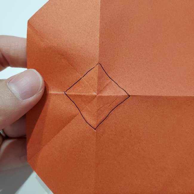 七夕の巾着の折り方作り方②丸(6)