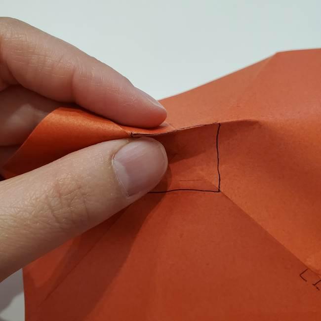 七夕の巾着の折り方作り方②丸(7)