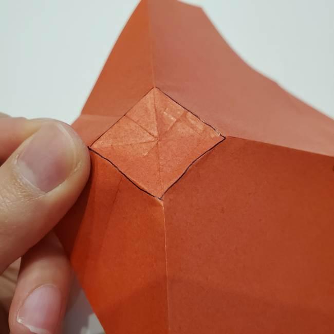 七夕の巾着の折り方作り方②丸(8)