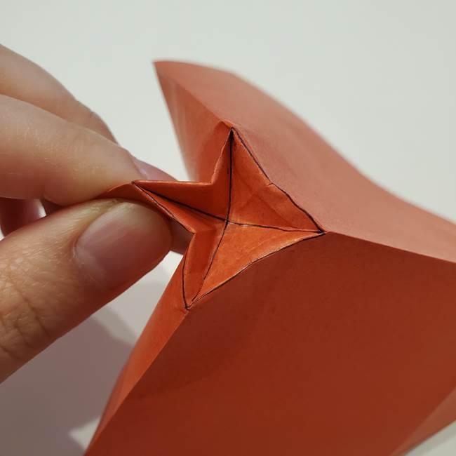 七夕の巾着の折り方作り方②丸(9)
