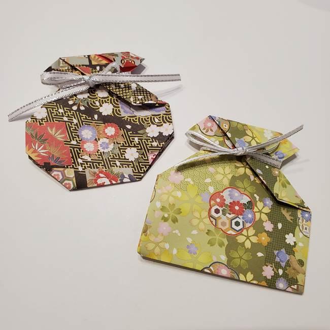 七夕の巾着の折り方作り方★折り紙1枚で簡単♪かわいい飾りを手作り