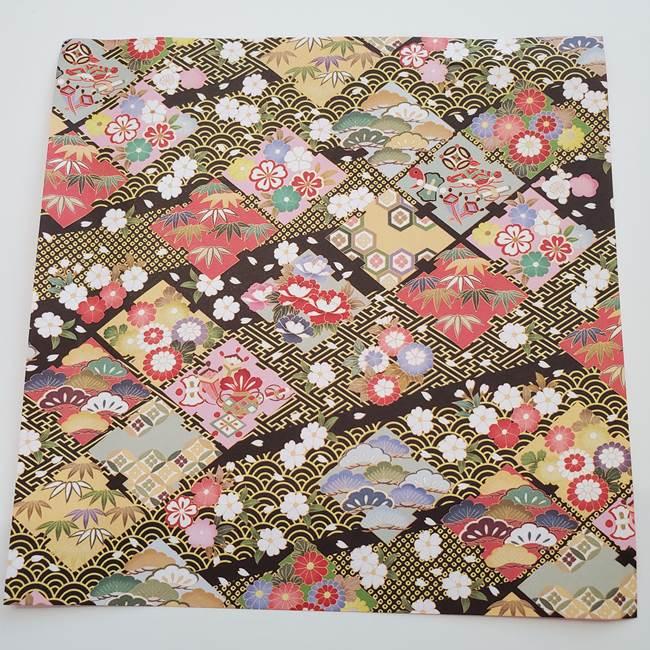 七夕の巾着の折り方*折り紙1枚で簡単に作れる♪(1)