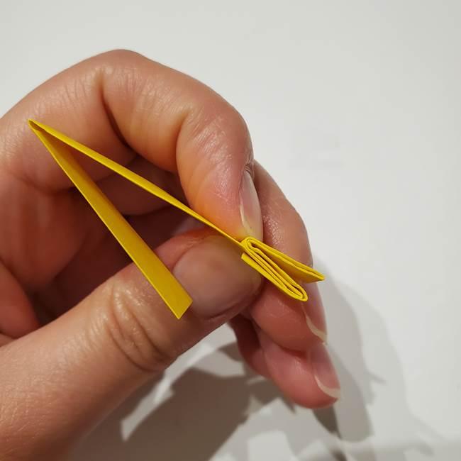 七夕の箸置きの折り紙☆かわいい星型の作り方折り方(10)