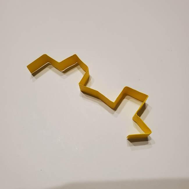 七夕の箸置きの折り紙☆かわいい星型の作り方折り方(12)