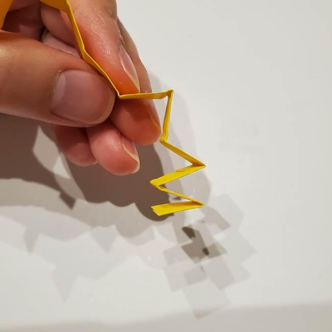 七夕の箸置きの折り紙☆かわいい星型の作り方折り方(13)