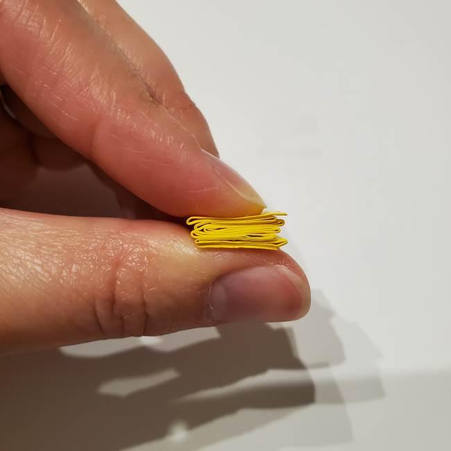 七夕の箸置きの折り紙☆かわいい星型の作り方折り方(14)