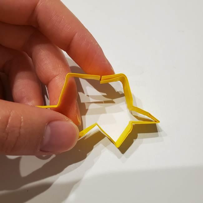 七夕の箸置きの折り紙☆かわいい星型の作り方折り方(16)