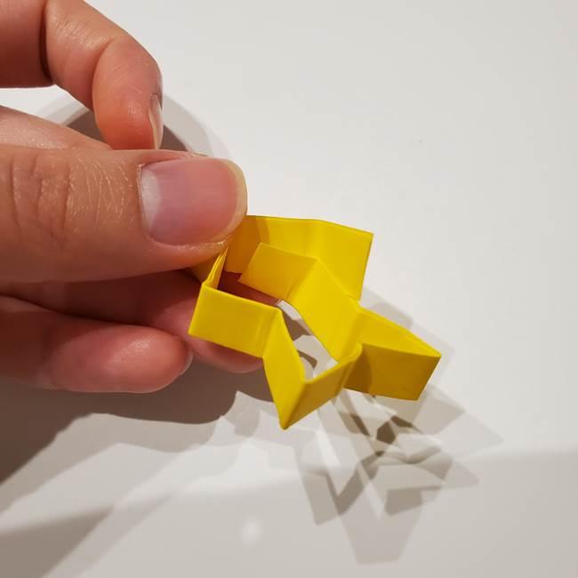 七夕の箸置きの折り紙☆かわいい星型の作り方折り方(17)
