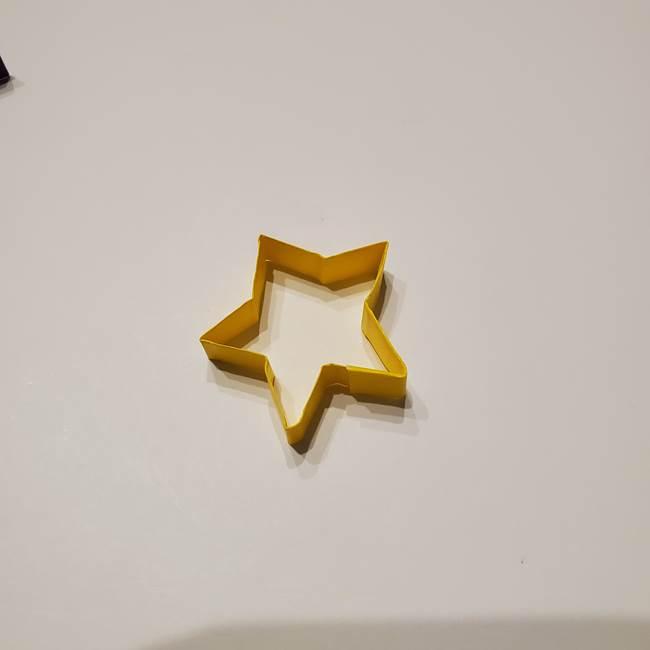 七夕の箸置きの折り紙☆かわいい星型の作り方折り方(19)
