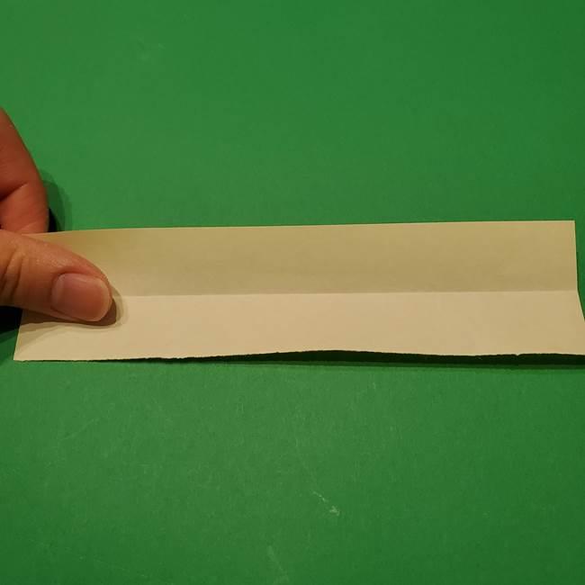 七夕の箸置きの折り紙☆かわいい星型の作り方折り方(3)