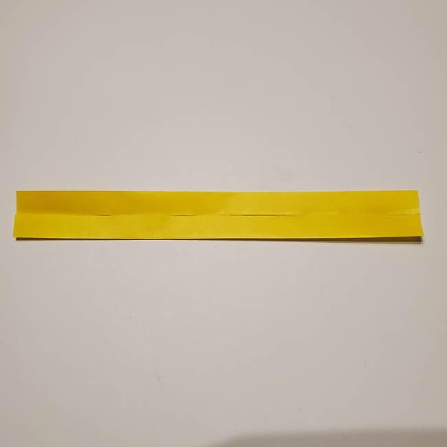 七夕の箸置きの折り紙☆かわいい星型の作り方折り方(4)