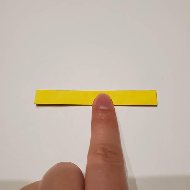 七夕の箸置きの折り紙☆かわいい星型の作り方折り方(6)