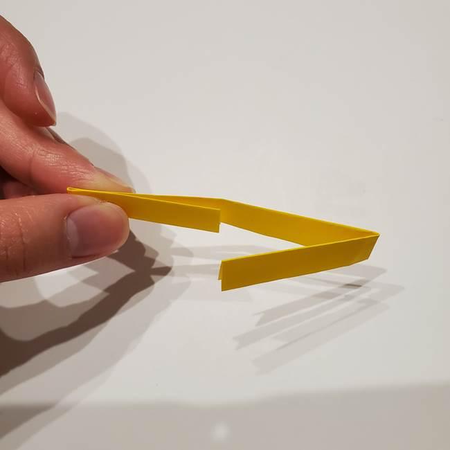 七夕の箸置きの折り紙☆かわいい星型の作り方折り方(8)