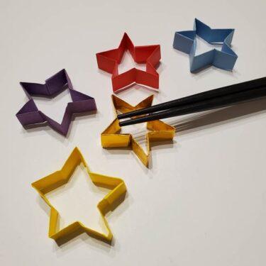 七夕の箸置き 折り紙でかわいい星型に☆簡単な作り方折り方を紹介