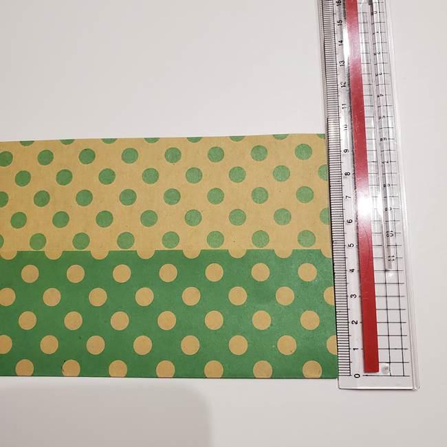 七夕飾りに☆折り紙のハートつづりの作り方折り方①パーツ(2)