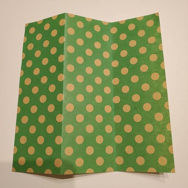七夕飾りに☆折り紙のハートつづりの作り方折り方①パーツ(4)