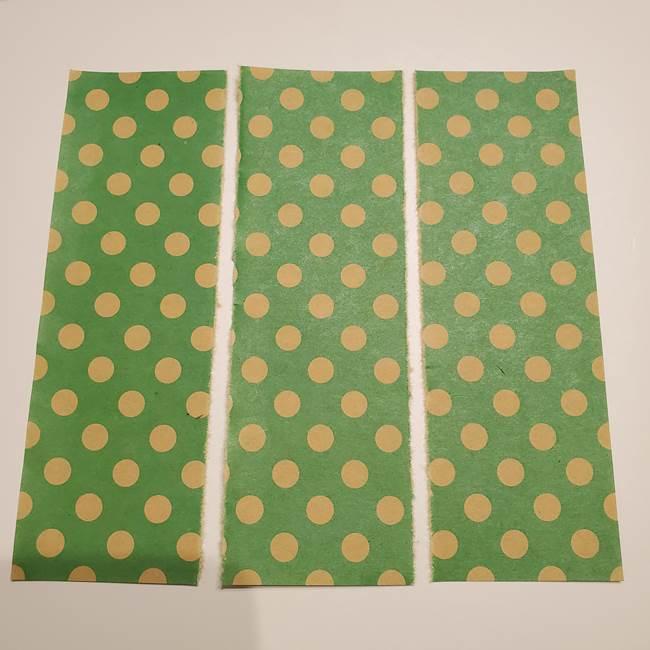 七夕飾りに☆折り紙のハートつづりの作り方折り方①パーツ(5)